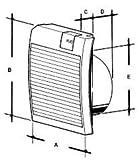 RUG 41-021 SILENTO Premium Schachteinbau-Ventil… Typ 1...