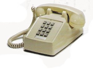 New Cortelco 2500-09-Vba-20mc Tone Dialing Bell Ringer Ivory Volume Dial On Handset Popular