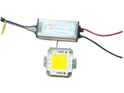 110V 20W Led Warm White Chip 3000K + 20W Driver Led Waterproof Constant Current Ac85V-265V La4
