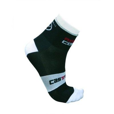 Buy Low Price Castelli 2012/13 Rosso Corsa 6 Cycling Sock – Black – R7072-010 (B000WN5HZ8)