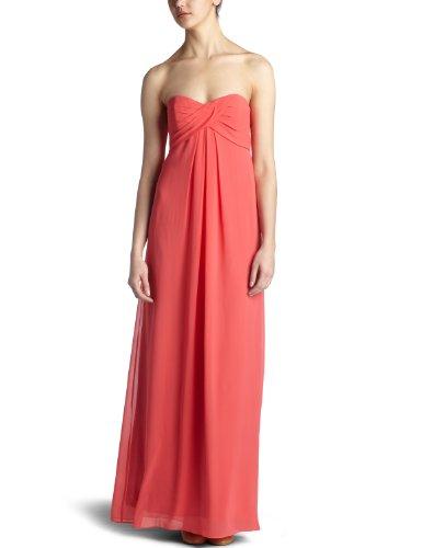 Nicole Miller Women's Strapless Georgette Dress