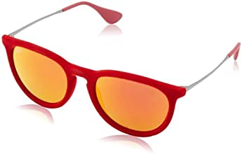 Ray-Ban Unisex Sunglasses RB4147 Red (60766Q 60766Q) One size