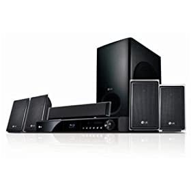 LG LHB535 1100-Watt Network Blu-ray Disc Home Theater System, Black