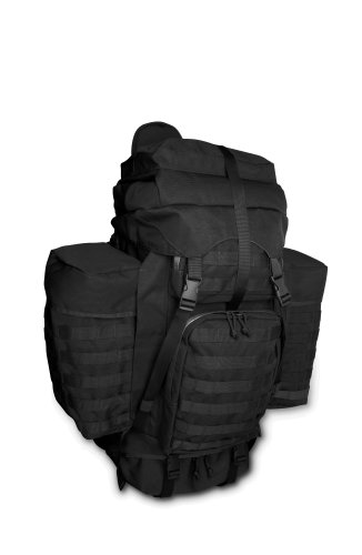 B002EUDAMY TAC Force Ruck Sack Back Pack, Black