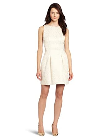 Cynthia Steffe Women's Logan Dress, Light Cream, 0