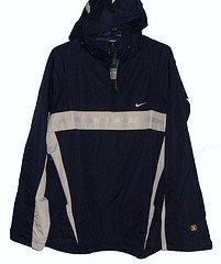 Nike Mens 1/2 Zip Jacket Navy/Silver Medium Mens