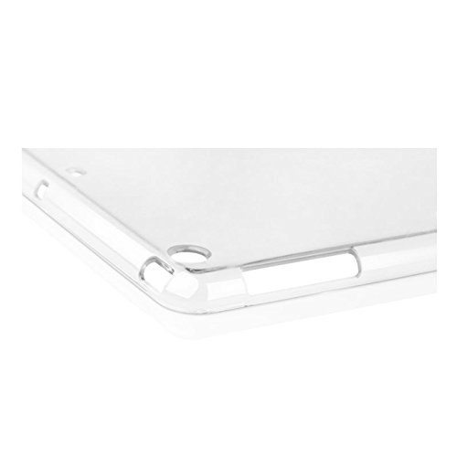 Read About iPad Air 2 Case, LUVVITT® CLARITY Soft Skin TPU Rubber Back Cover for iPad Air 2 - Cryst...