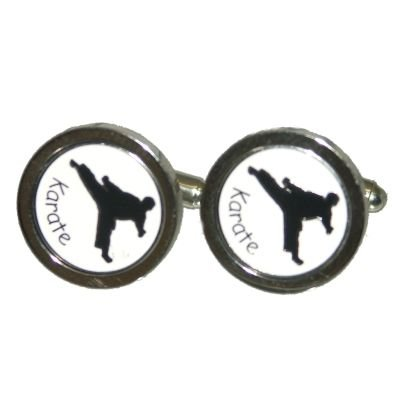 X2PSC026 - Karate Theme Cufflinks