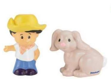 Fisher-Price Little People - Koby & Rabbit