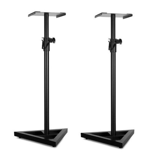 Paar Auna Monitor-Stand 5 Supporti per casse neri
