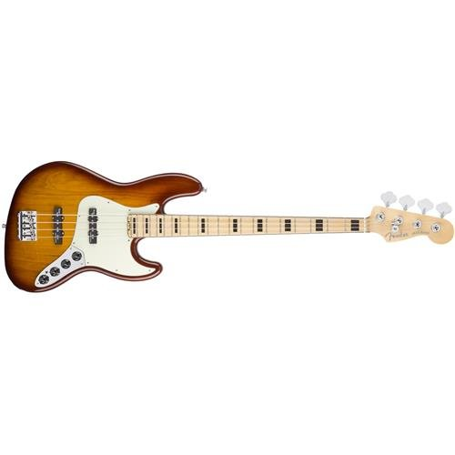 Fender American Elite  Jazz Bass, Ash - Tobacco Sunburst (American Fender Jazz Bass compare prices)