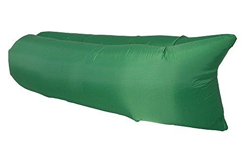 iParaAiluRy Outdoor gonfiabile Lounger, colpo su materasso - per campeggio Air Bag divano, durevole Beach Materassino, Protezione 210T Nylon + PE Materiale ambientale