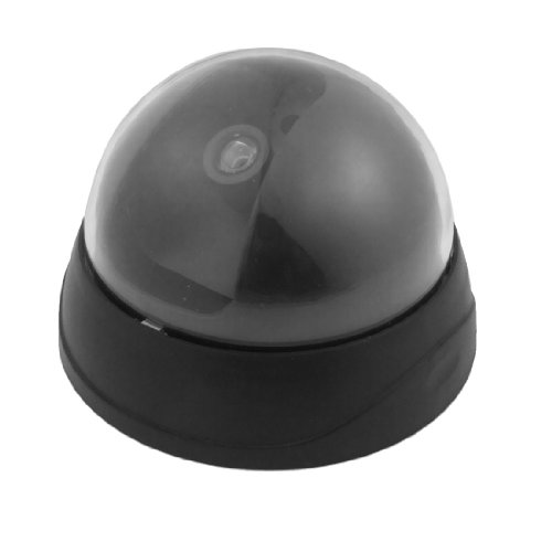 Mini Dome Shaped Non-Functioning Fake Security Monitoring Camera