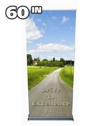 "60"" Premium Retractable Banner Stand"
