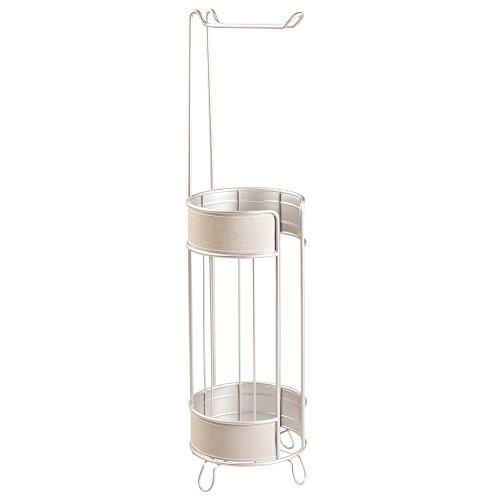 interdesign-lauren-free-standing-soporte-de-rollo-de-papel-higienico-para-cuarto-de-bano-acero-gris-