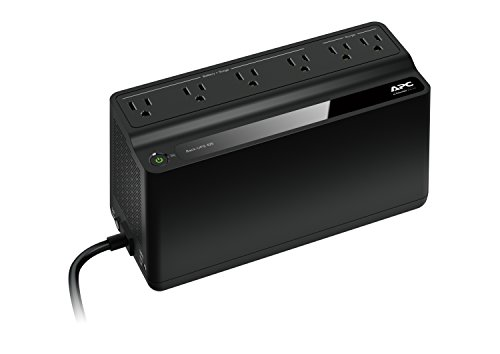 APC Back-UPS 425VA UPS Battery Backup & Surge Protector (BE425M) (Surge Protector Battery Backup compare prices)
