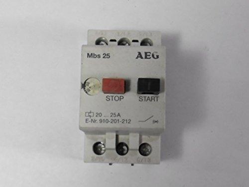 AEG MBS-25-O 910-201-212 Manual Motor Starter 20-25A (Starter Aeg compare prices)