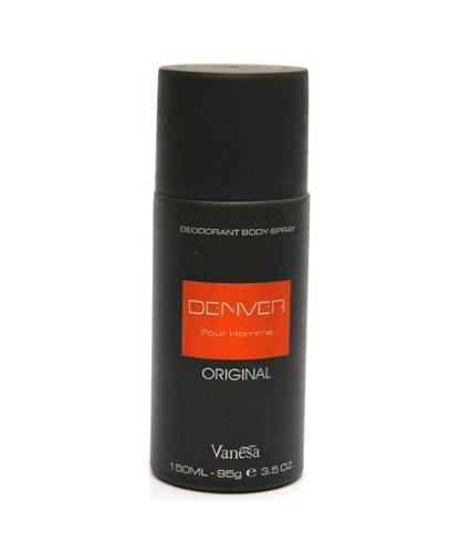 Denver Black Code Deodorant Body Spray For Men (150 Ml)