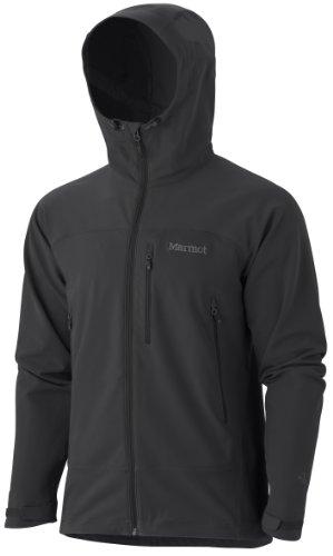 Marmot Men's Tempo Softshell Hoody - Black, Large