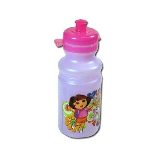 Dora The Explorer 17oz Pull Top Water Bottle Jug - 1