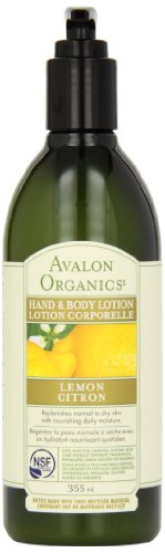 Avalon Organics Lemon Hand And Body Lotion