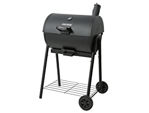 brinkmann charcoal barrel smoker freestanding grills patio lawn garden. Black Bedroom Furniture Sets. Home Design Ideas