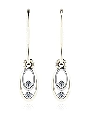 Friendly Diamonds Pendientes FDT50106W Oro Blanco