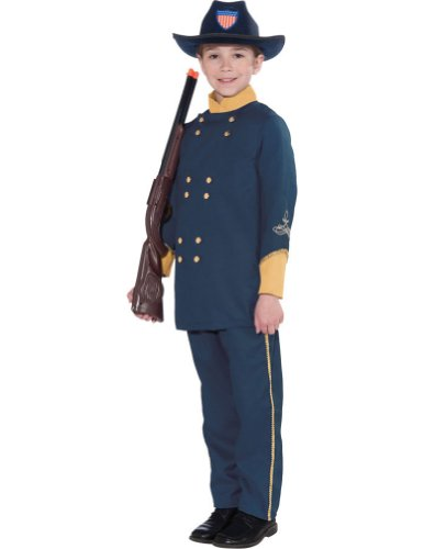 Union Officer Child Costume 12-14 Kids Boys Costume