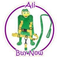 Child Safety Harness Backpack - Alligator