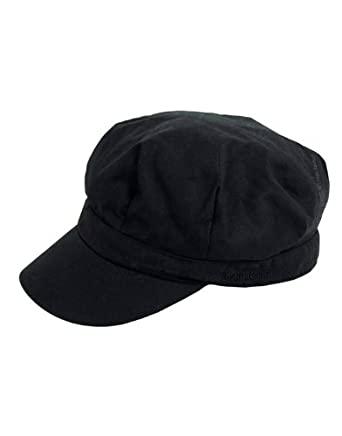 barbour wax baker boy hat black lha0002bk91 h227
