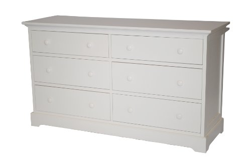 Munire Chesapeake Double Dresser, White
