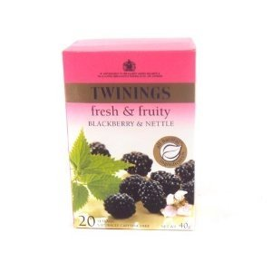1 X Twinings(uk) Infusion Blackberry & Nettle 20 Tea Bags