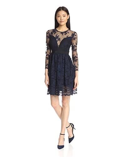 A.B.S. by Allen Schwartz Women's Lace Cocktail Dress
