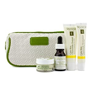 Eminence Calm Skin Starter Set (For Sensitive Skin) 4Pcs+1Bag by Eminence
