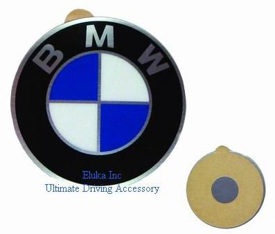 BMW Genuine Wheel Center Cap Emblem Decal Sticker 58mm (BMW)