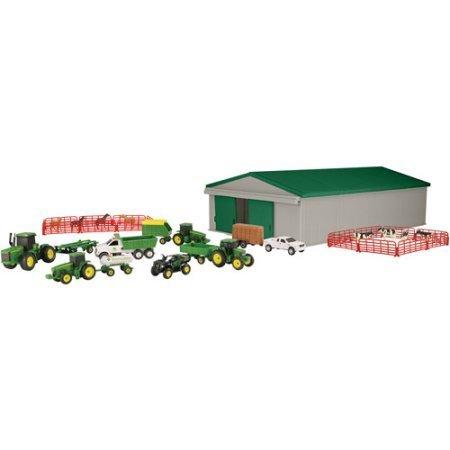 John Deere Value Set, John Deere farm set includes over 70 pieces (John Deere Remote Control compare prices)