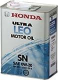 HONDA/ホンダ純正エンジンオイル ウルトラ LEO SN 0W20/0W-20 20Lペール缶