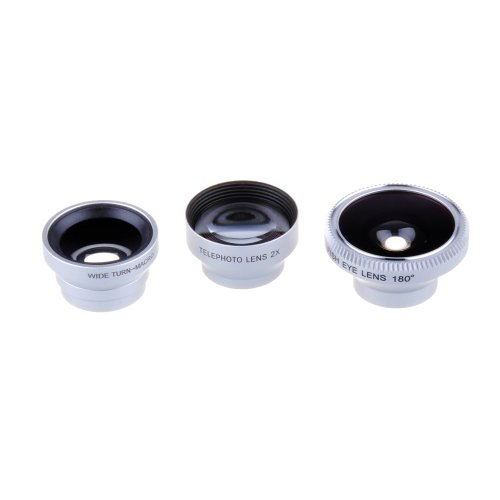 Patuoxun Magnet 4 In 1 Telephoto Lens Fisheye Lens Wide Angle Lens And Macro Lens For Iphone5S Iphone5C Iphone 4 4S 5 Galaxy S2 S3 S4 Note 1 2 3 Htc One M7