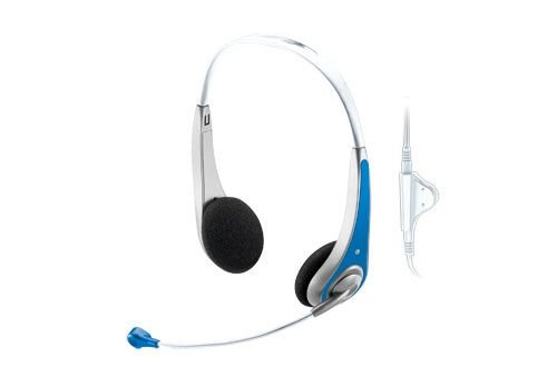 Trust InSonic Chat Headset blau