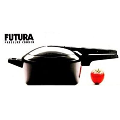 Futura by Hawkins Hard Anodized 2 Litre Pressure Cooker from Hawkins