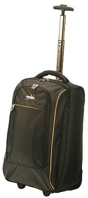 Vango Platinum Wheeled Cabin Travel Luggage - Black, 40 lt by Vango