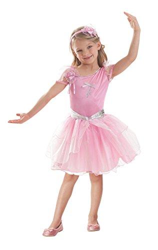 Barbie™ Ballerina-Kostüm für Mädchen - 5 bis 7 Jahre