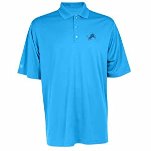 Detroit Lions Exceed Polo (Team Color) by Antigua
