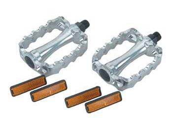 Bike | Bicycle 468 Alloy Pedals 1/2″ Chrome