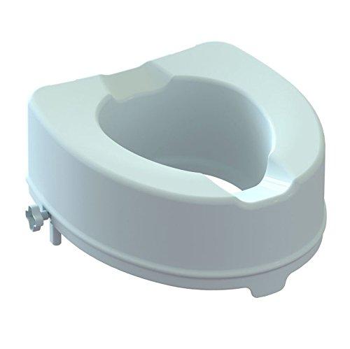 negrari ar-14-pp-kd alzawater Sitzerhöhung WC mit Sicherheitsverschluß seitlich Höhe 14cm