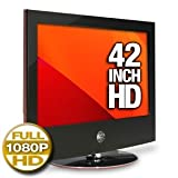 LG 42LG60 42-Inch 1080p 120hz LCD HDTV, Gloss Piano Black with Scarlet Red