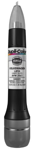 Dupli-Color AVW2041 Candy White Volkswagen Exact-Match Scratch Fix All-in-1 Touch-Up Paint - 0.5 oz. (Audi A5 Scale Model compare prices)