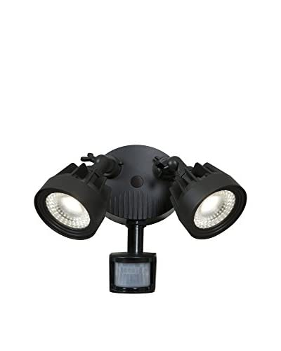 Access Lighting Stealth LED 2-Light Outdoor Spotlight, Black