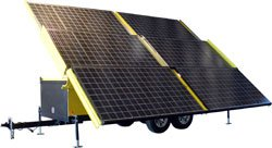 Larsonelectronics Solar Powered Generator - 18 Kilowatts Max Output - 120/240 Volts Ac 3 Phase - 30' Trailer Config