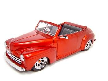 Buy 1948 FORD CUSTOM RED 1:18 SCALE DIECAST MODEL